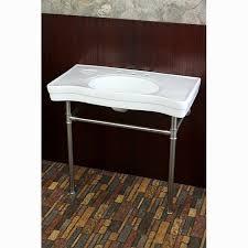 Bathroom Sink Console Table Kingston Brass Duchess Vitreous 34