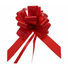 bows and ribbons wholesale large 50mm pull bows ribbon pack of 20 christmas
