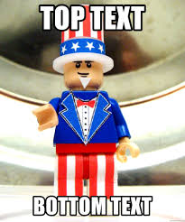Uncle Sam Meme Generator - top text bottom text lego uncle sam meme generator