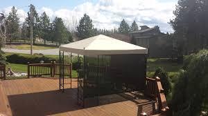 Carport Canopy Costco Costco Spears Finial Gazebo Replacement Canopy 492801 Garden Winds