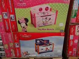 disney toy box bench
