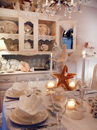shabby chic dining room photos hgtv white coastal table setting