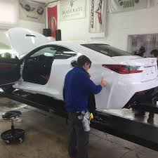 lexus rcf protected xpel ultimate st louis clear bra installers
