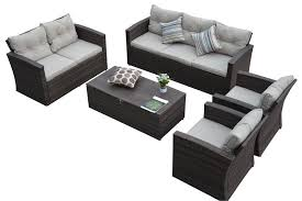 Las Vegas Outdoor Furniture by Thy Hom Rio 5 Piece 7 Seat Outdoor Furniture Set Las Vegas