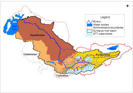 Aral Sea Map Local Level Water Cooperation Flourishes In Central Asia The
