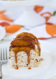 cinnamon angel food cake with caramelized apples blahnik baker