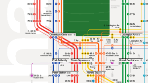 Old Nyc Subway Map by Nyc Subway Map Reimagined To Be More Tourist Friendly Curbed Ny