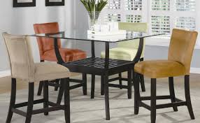 Black Modern Dining Room Sets Dining Room Outstanding Tall Dining Room Sets Counter Height