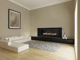 contemporary black long wall gas fireplace ideas and attractive