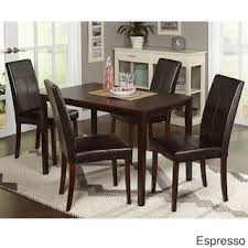 Leather Dining Room Furniture Leather Kitchen Dining Room Sets For Less Overstock