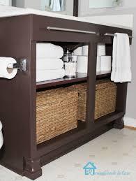 Refurbished Bathroom Vanity by Diy Double Bathroom Vanity Addicted 2 Diy Refurbished Bathroom
