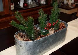 rustic christmas table centerpieces 1000 images about trough decor
