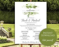 wedding program poster wedding program poster large wedding program wedding poster