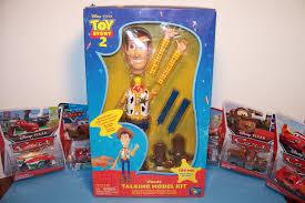 disney pixar toy story 2 woody talking model kit thinkway toys