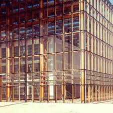 stick system curtain wall glass wooden steel wictec 50 a
