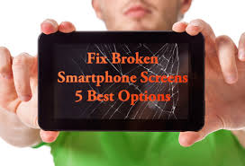 got a cracked screen 5 best smartphone screen repair options