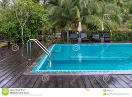 Swimming Pool Handrails Swimming Pool With Handrails Stock Photo Image 62844724