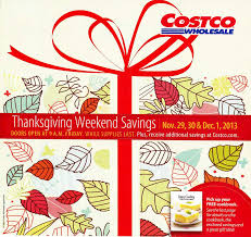 costco us thanksgiving weekend coupon book november 29 december 1