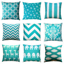 Unique Sofa Pillows by Bedroom Fascinating Turquoise Pillows Create Awesome Home