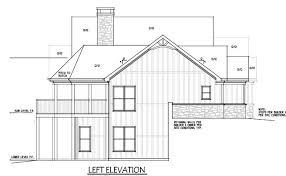 Floor Plans And Elevations Of Houses 4 Bedroom House Plan Craftsman Home Design By Max Fulbright