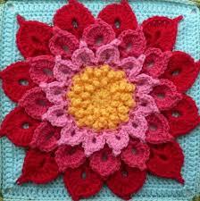 Free Pattern For Crochet Flower - 10 beautiful crochet flowers to make skip to my lou