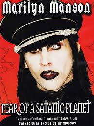 amazon com marilyn manson fear of a satanic planet marilyn