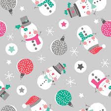 snowman fabric christmas cotton christmas craft fabric