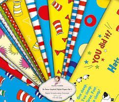 dr seuss assorted gift wrapping paper kindle matchbook or free cheap ebook when you buy paper edition