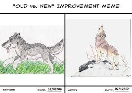 Fingers Crossed Meme - old vs new improvement meme by crossed fingers on deviantart