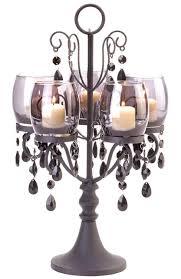 black hanging crystal candelabra candelabra