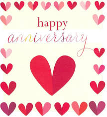 happy anniversary cards happy anniversary heart card citywide florist christchurch