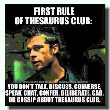 Club Meme - rules of thesaurus club meme guy