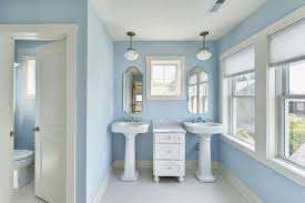 Pottery Barn Mirrors Bathroom by Philadelphia Pottery Barn Mirrors Bathroom Traditional With Blue