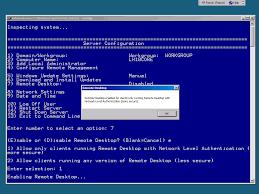 configurer bureau à distance windows 7 configuration d un windows server 2008 r2 en mode partie 1