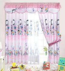 Nursery Curtains Uk Pink Baby Curtains Print Blackout Baby Room Curtains