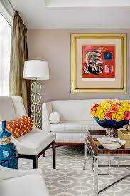 manhattan apartment with bold artwork and blend of styles 2015