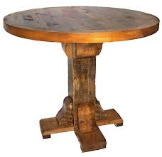 30 round bar table tables reclaimed rustic woodworks