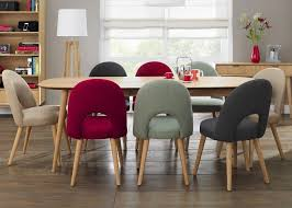 Other Oak Upholstered Dining Room Chairs Fine On Other Inside - Cushioned dining room chairs