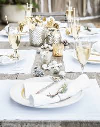 drape your table in winter white holiday table setting