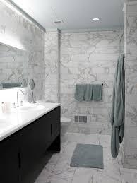 marble tile bathroom ideas 6x12 calacatta gold marble wall tiles with 12x24 floor tiles in