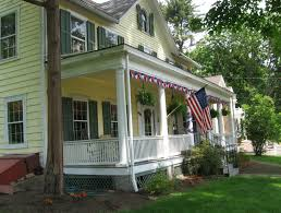 Front Porches On Colonial Homes Colonial Front Porch Home Design Ideas Pictures Remodel