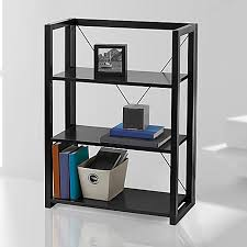 Foldable Bookcases Wooden Folding And Stacking Bookcase Bed Bath U0026 Beyond