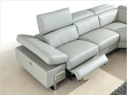 Leather Electric Reclining Sofa Barrettsville 2 Seat Leather Power Reclining Sofa In