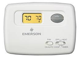 emerson 1f79 111 comfort set thermostat programmable household