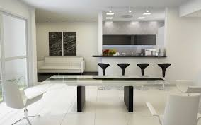 modern kitchen dining room design kitchen appealing double black wooden legs plus white swivel