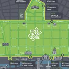 melbourne tram map how do melbourne trams work one stop adventure tours