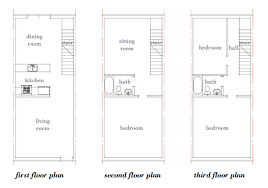 Row House Plans - download small row house floor plans adhome