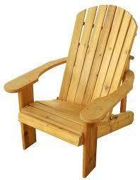 adirondack chair u2014 triangle outdoor furniture