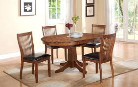 pedestal kitchen table and chairs oval kitchen table sets iamfiss com