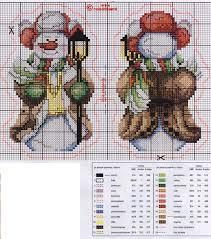 tree ornament crafts snowman cross stitch kits